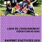 Rapport d'activité 2018 de la Ligue de l'Enseignement du Gers