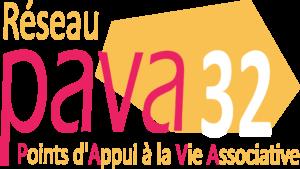 Logo Pava Auch Info'Asso 32, Ligue de l'enseignement du Gers