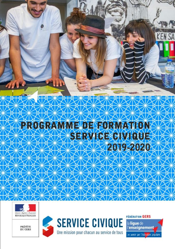 Programme de formation Service civique Ligue de l'enseignement du Gers